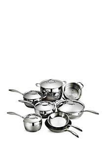 Gourmet Domus 18/10 Stainless Steel 13-Piece Cookware Set