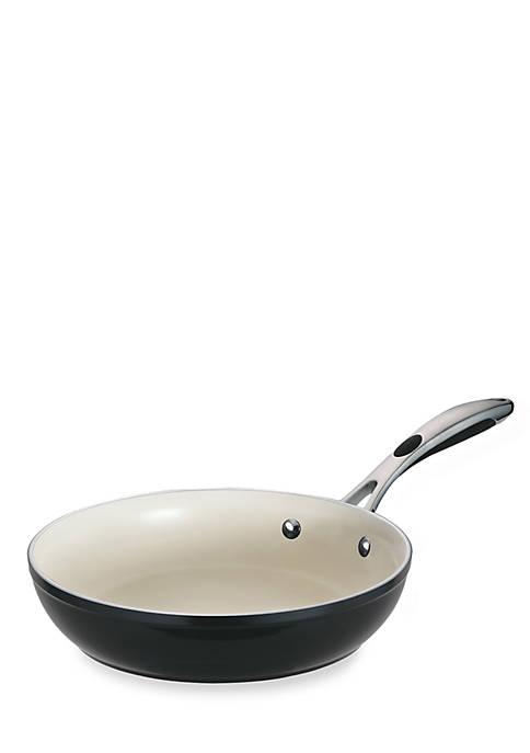Gourmet 10-in. Metallic Black Ceramica 01 Deluxe Fry Pan - Online Only