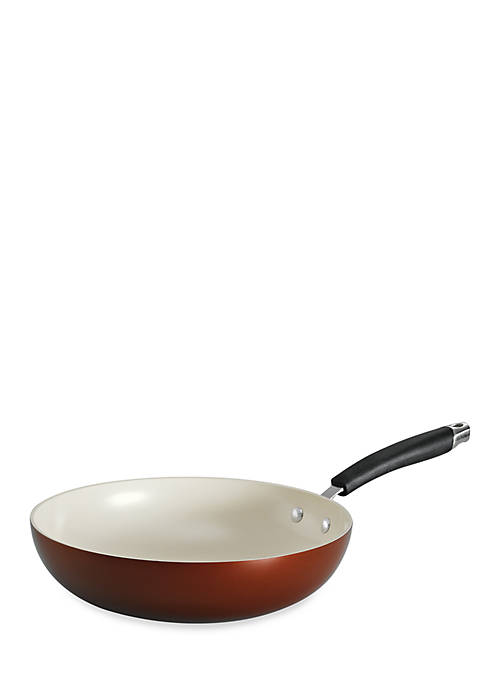 Style 11-in. Metallic Copper Ceramica 01 Stir-Fry - Online Only