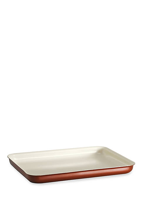 Style 16-in. Metallic Copper Ceramica 01 Baking Tray