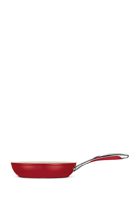 Tramontina Gourmet 10-in. Deluxe Ceramica 01 Metallic Red