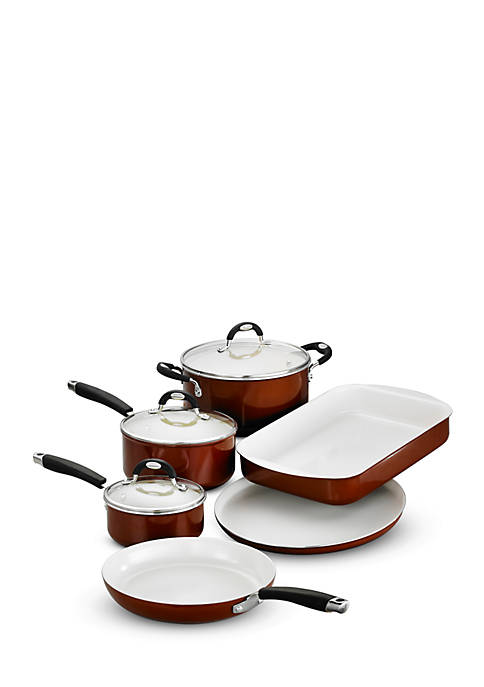9-PieceTramontina Style Ceramica Cookware and Bakeware Set