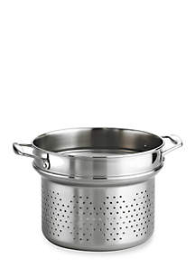 Gourmet 18/10 Stainless Steel 8-qt. Pasta Insert  - Online Only