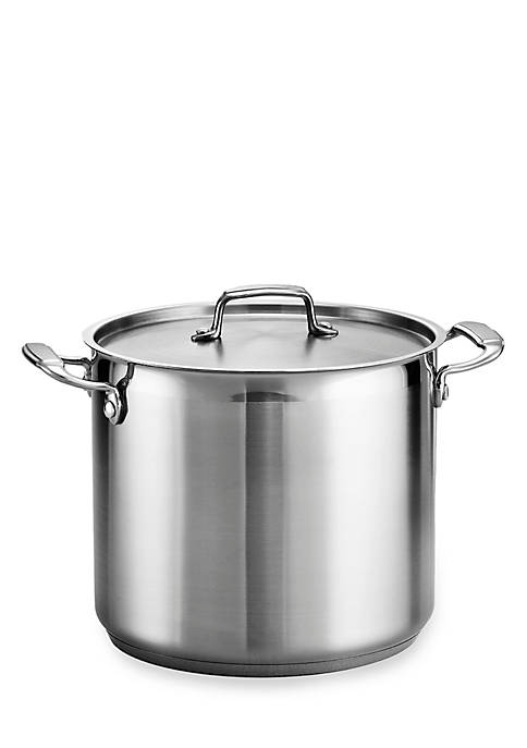 Gourmet 12-qt. Stainless Steel Covered Stock Pot - Online Only
