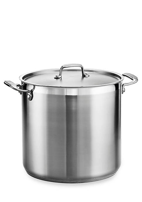 Gourmet 20-qt. Stainless Steel Covered Stock Pot - Online Only