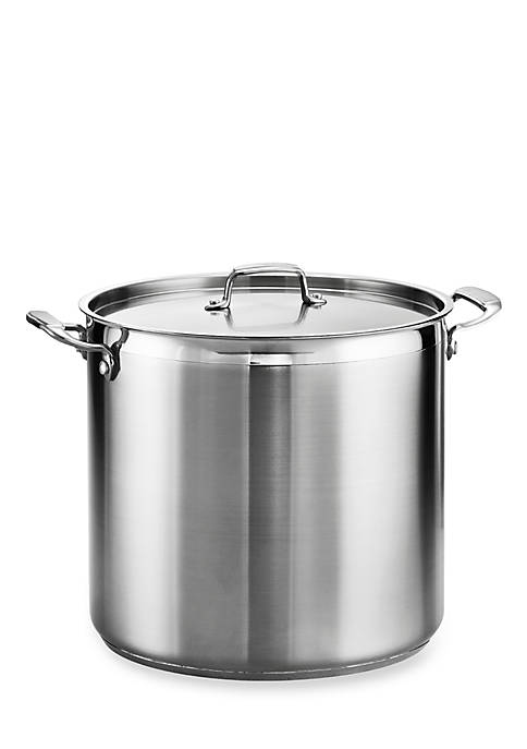 Gourmet 24-qt. Stainless Steel Covered Stock Pot - Online Only