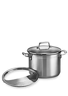Gourmet 3-Piece 6-qt. Stock Pot Multi-Cooker - Online Only