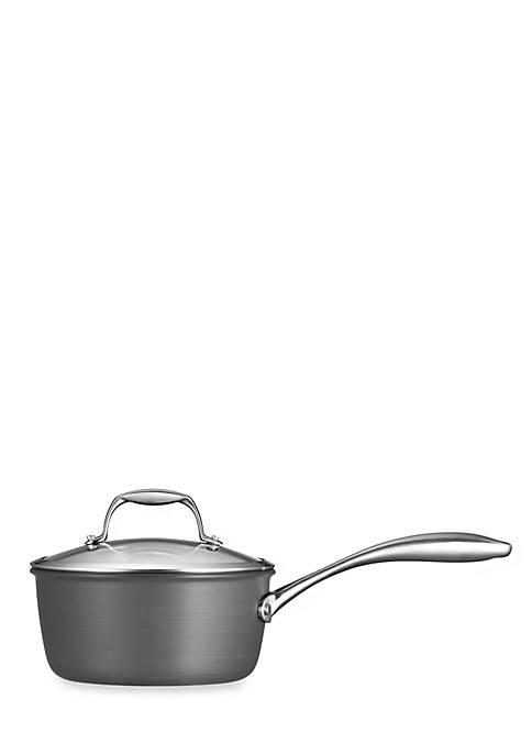 Gourmet 2-qt. Nonstick Hard Anodized Saucepan
