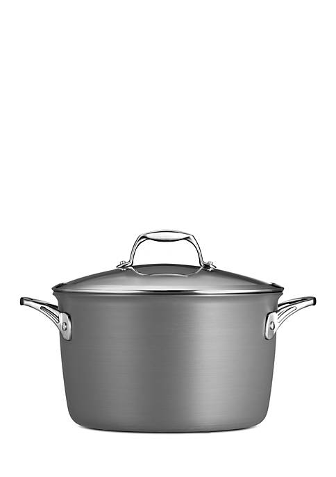 Gourmet 8-qt. Nonstick Hard Anodized Covered Stockpot