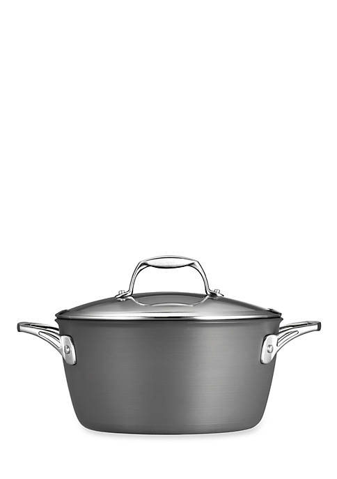 Gourmet 5-qt. Nonstick Hard Anodized Covered Dutch Oven