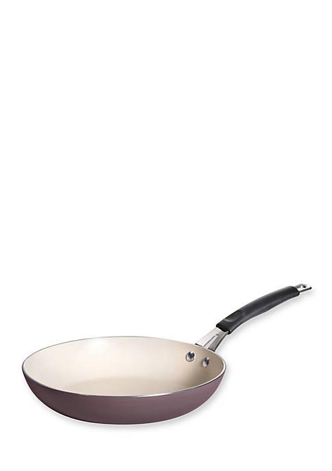Simple Cooking 10-in. Plum Nonstick Porcelain Enamel Aluminum Fry Pan