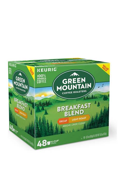 Keurig® Green Mountain Breakfast Blend K-Cup Pack 48