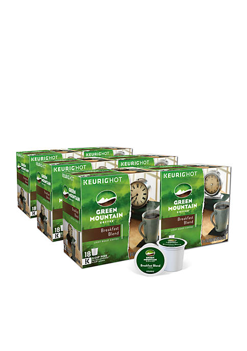 Keurig® Green Mountain Breakfast Blend 108ct