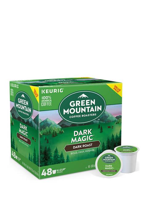 48 K-Cup Pod Green Mountain Coffee Dark Magic Dark Roast Coffee
