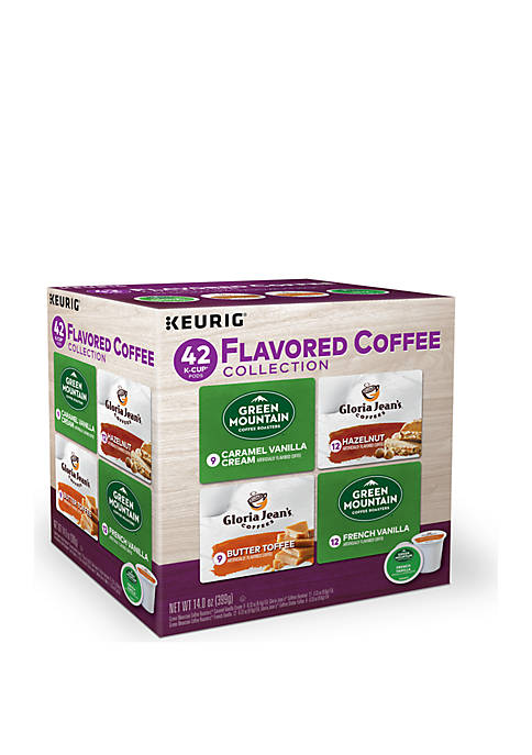 42 K-Cup Pod Flavored Coffee Collection