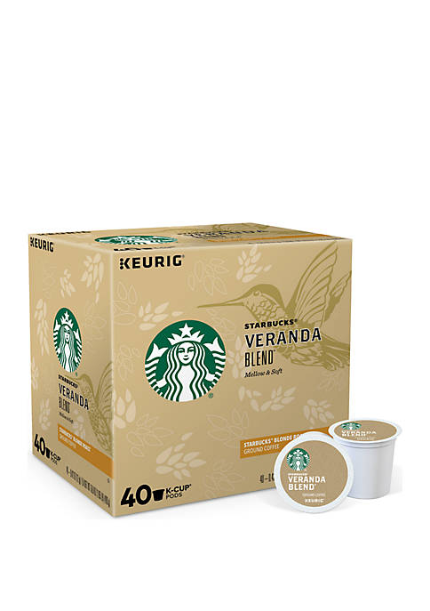 40 K-Cup Starbucks Veranda Blend™ Blonde Coffee