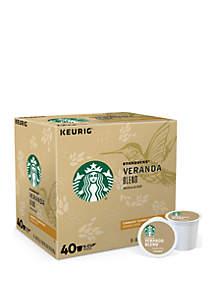 Keurig® 40 K-Cup Starbucks Veranda Blend™ Blonde Coffee