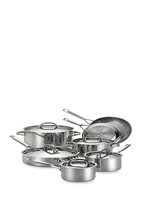 Anolon 12-pc. Stainless Steel Set