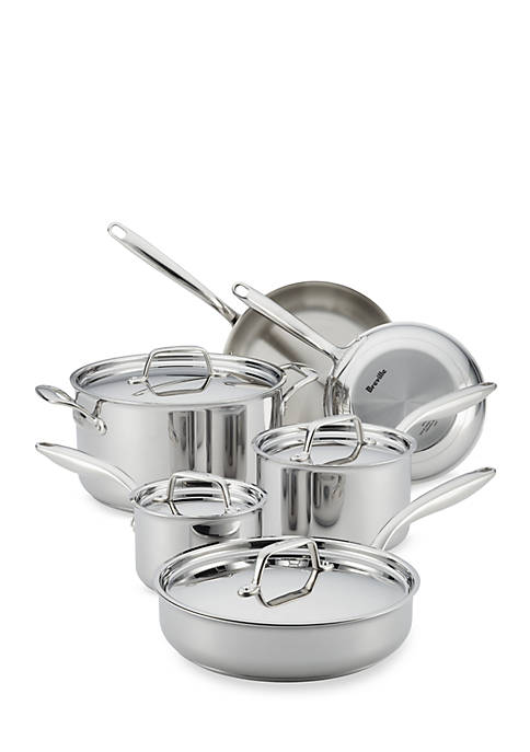 Breville Thermal Pro™ 10-Piece Clad Stainless Steel