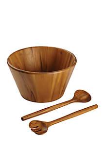 Pantryware 3-Piece Teak Wood Salad Serving Set