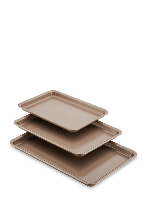 Anolon Nonstick Bakeware 3 Piece Cookie Pan Set