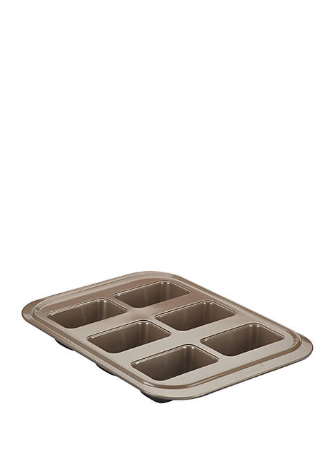 Anolon Eminence Nonstick Bakeware 6 Cup Mini Loaf