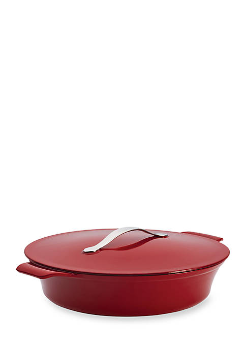 Anolon Vesta Cast Iron Cookware 5-qt. Round Covered