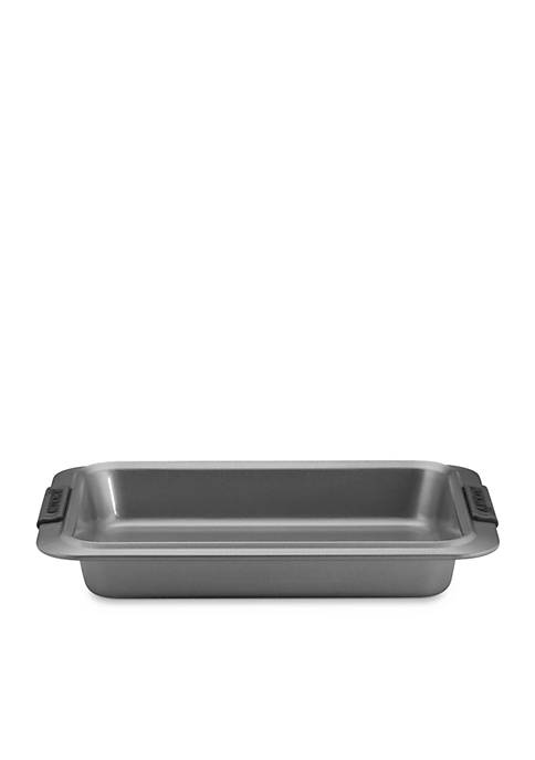 Nonstick 9-in. x 13-in. Rectangular Cake Pan with Silicone Grips