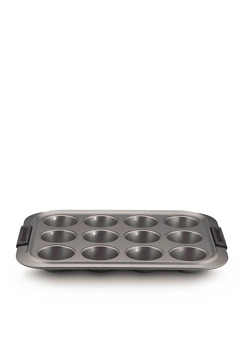 Anolon Nonstick 12-Cup Muffin Pan with Silicone Grips