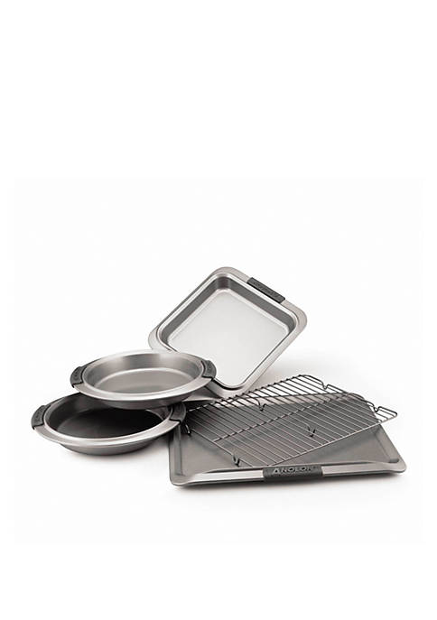 Anolon Advanced Nonstick Bakeware 5-Piece Bakeware Set with