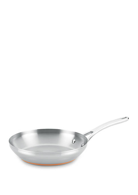 Anolon Copper Stainless Steel French Skillet