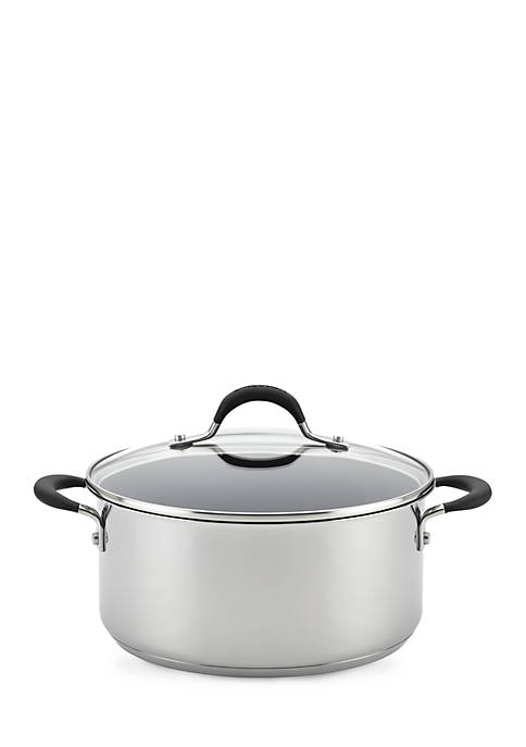 Circulon Momentum Stainless Steel Nonstick Covered Dutch Oven