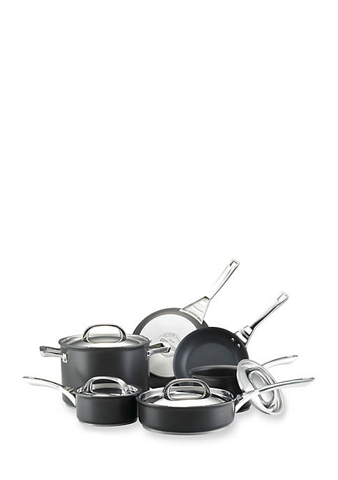 Infinite Hard Anodized Nonstick 10-Piece Cookware Set