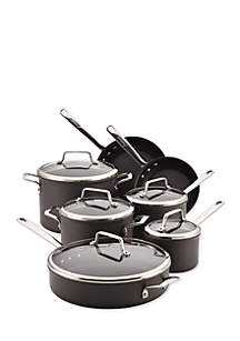 Authority Hard-Anodized Nonstick 12-Piece Cookware Set