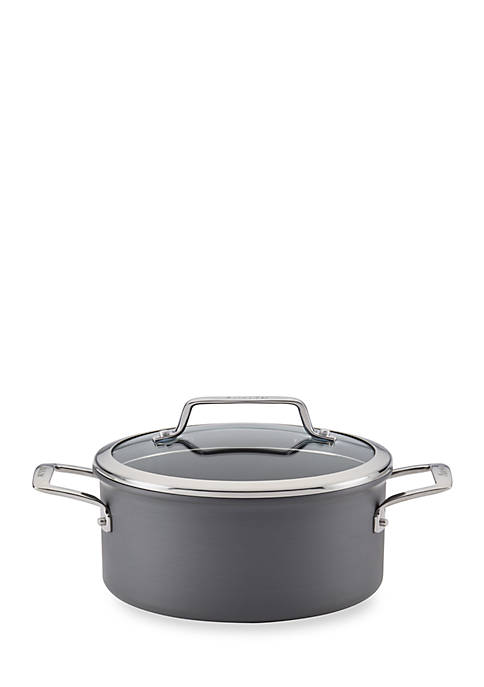 Anolon Authority Hard-Anodized Nonstick 4-qt. Covered Saucepot,