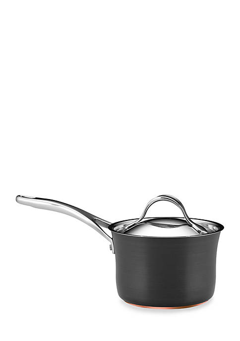 Anolon Nouvelle Copper Nonstick 2-qt. Covered Saucepan
