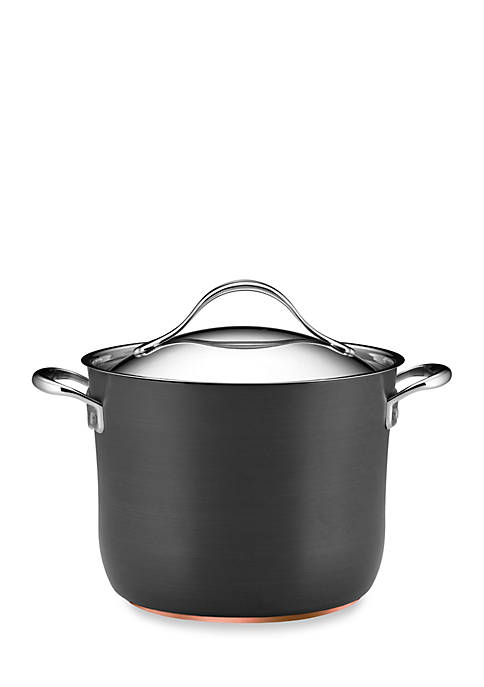 Nouvelle Copper Nonstick 8-qt. Covered Stockpot