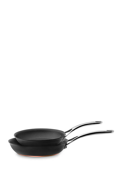 Anolon Nouvelle Copper Hard Anodized Aluminum 2-Piece Skillet