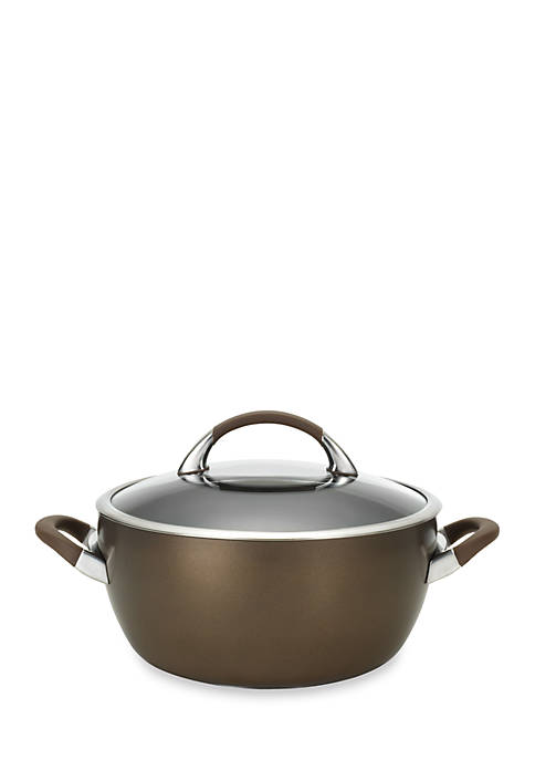 Circulon Symmetry Hard-Anodized Nonstick 5.5-qt. Covered Casserole