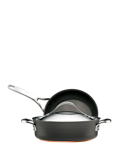 Anolon 3 Piece Nonstick Cookware Set