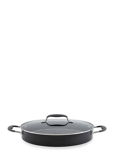 Anolon Advanced Hard-Anodized Nonstick 5.5-qt. Covered Braiser