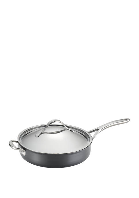 Anolon Nouvelle Copper Nonstick 5-qt. Covered Saute with