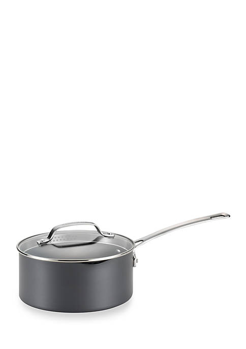 Circulon Genesis Hard-Anodized Nonstick 3-qt. Covered Straining