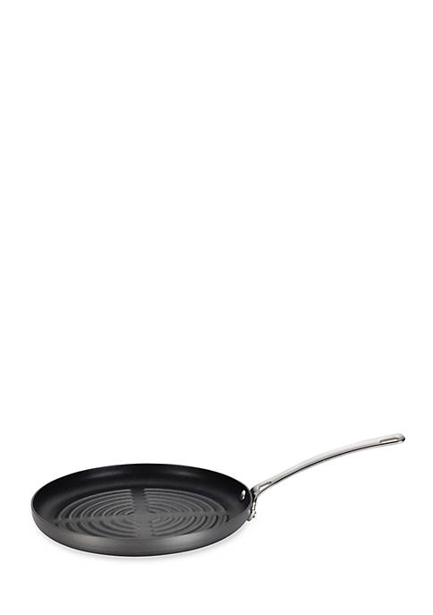 Circulon Genesis Hard-Anodized Nonstick 11-in. Round Grill Pan