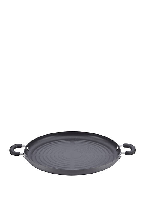 Classic 14 in Gray Hard Anodized Nonstick Jumbo Grill Pan
