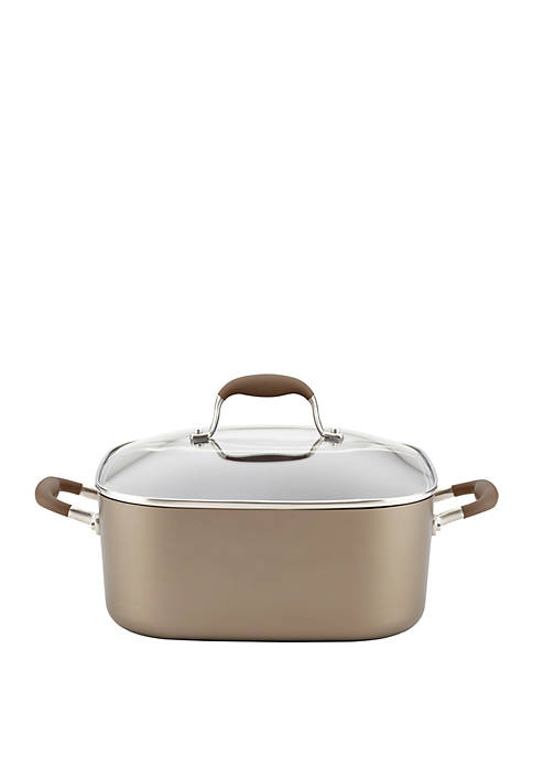 Anolon 7-Quart Covered Square Dutch Oven- Bronze
