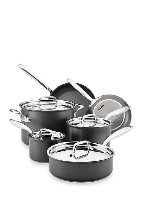 Breville Thermal Pro™ 10-Piece Hard-Anodized Nonstick