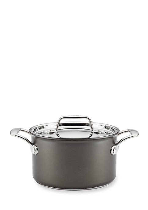Breville Thermo Pro™ 4-qt. Nonstick Hard Anodized Covered