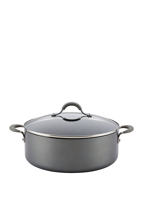 Circulon Elementum Hard-Anodized Nonstick Covered Stockpot,