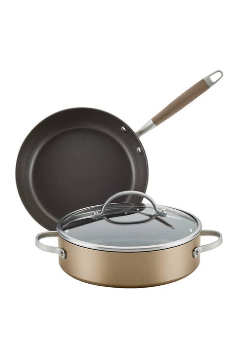 Anolon 3 Piece Cookware Set
